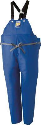 ロゴスコーポレーション ロゴス マリンエクセル 胸当て付きズボン膝当て付きサスペンダー式 ブルー 3L  12063150【smtb-s】