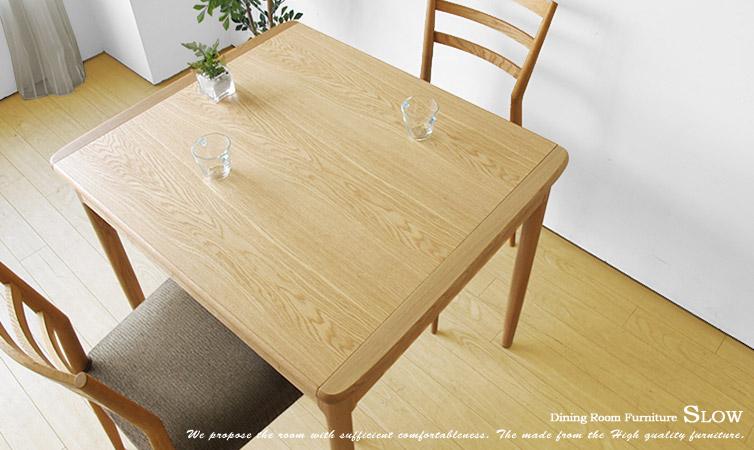 【受注生産商品】国産!北海道産ミズナラ材を使用した伸長式のダイニングテーブル 幅90cmから幅130cmになるエクステンションテーブル SLOW-90(※チェア別売), スタイルでワイン:338326c8 --- novoinst.ro