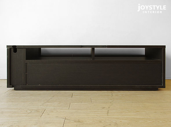 小吃杂草 TV120DB 店限量版原始设置的宽度 120 厘米暗棕色黑色颜色黑色日本现代单调协调能力简单的现代设计家具