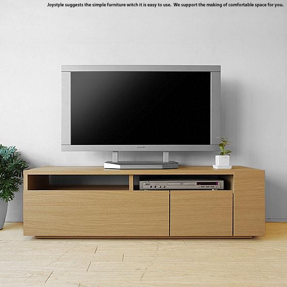 ※現在ウォールナット欠品中、次回入荷予定は5月中旬頃です。テレビ台 幅120cm ナチュラル色 和モダンテイスト ナチュラルテイスト 収納力があるシンプルモダンデザインのロータイプのテレビボード