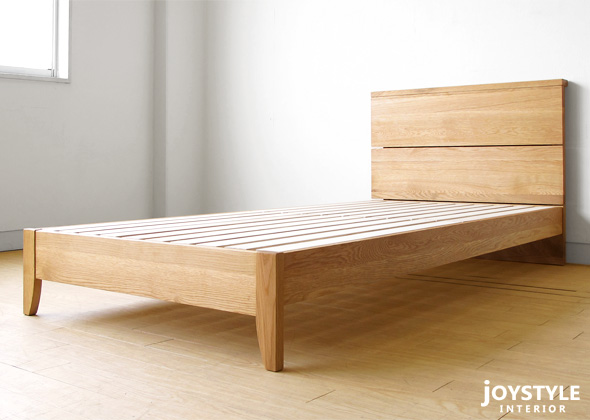 bed frame paulownia drainboard bed leone nr of the innocent low type that is all - Oak Bed Frame