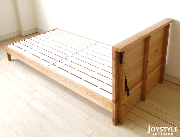 bed frame paulownia drainboard bed leone nr of the innocent low type that is all - Double Size Bed Frame
