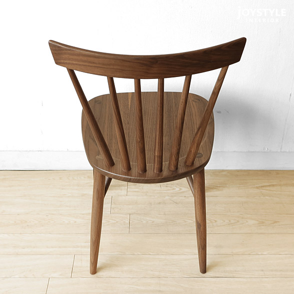 Dining chair Windsor chair board seat ROCA-CHAIR of the walnut materials walnut pure materials tree wooden chair Windsor-style