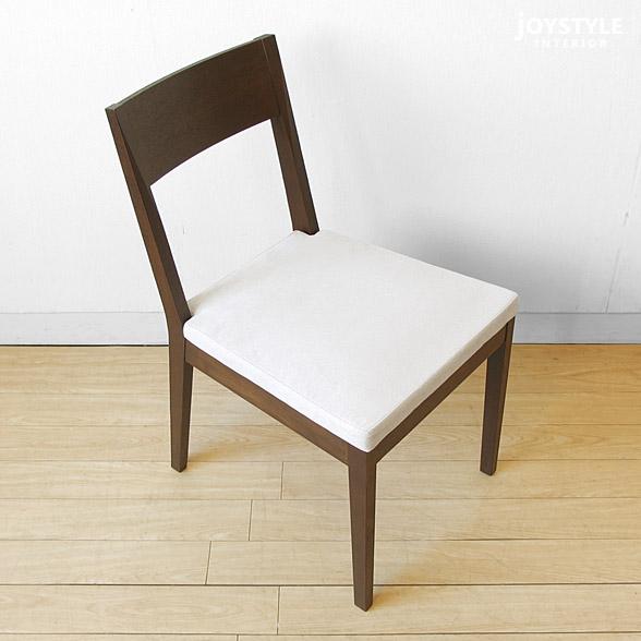简单的tamo材tamo天然木木制椅子茶色棕色色餐厅椅子TACK-BE
