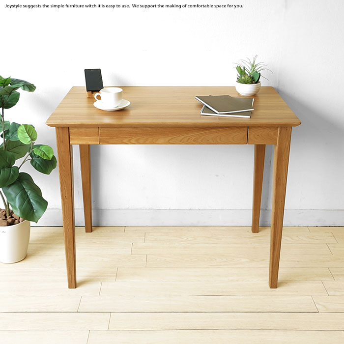 90 Cm Wide 85 80 75 4 Size Elm Wood Solid Natural Wooden Desk With Drawers For Writing Species