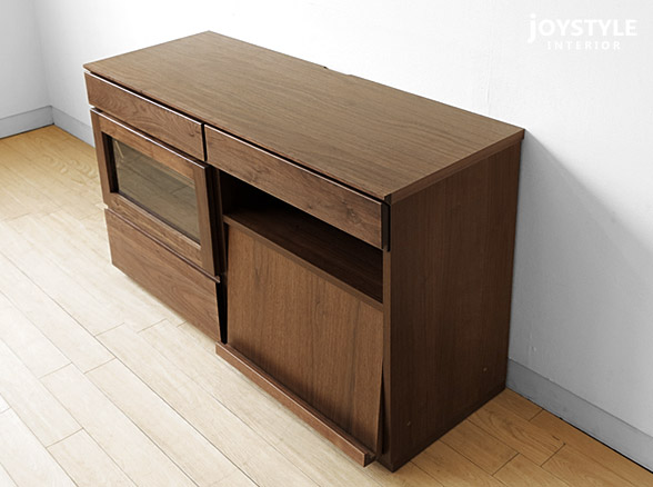 Sideboard 120 Cm ~ Joystyle interior rakuten global market: combined with walnut wood