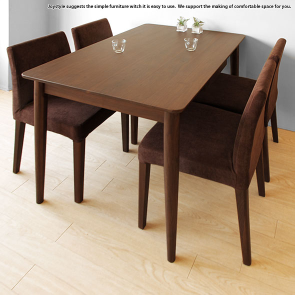 Width 120 Cm Walnut Wood Solid Wooden Drawers 2 Gl With Dining Table Round