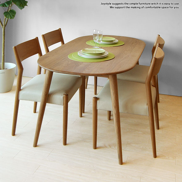 Width 150 Cm Oak Wood Solid Cute Form Of A Natural Legs And Top Round Dining Table Pino Chairs Sold Separately Internet