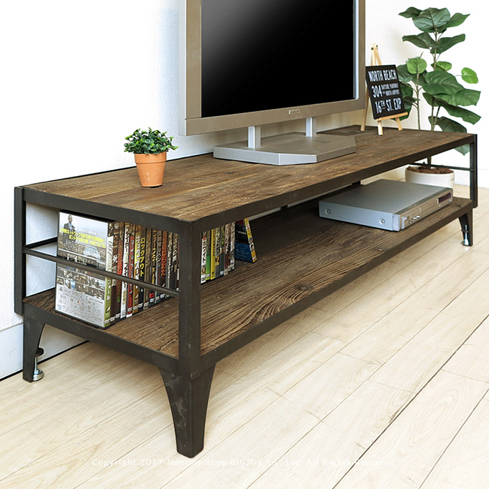 Incredible Width 148 Cm Vintage Retro Atmosphere Combining Elm Solid Elm Tree Wood Tv Stand Elm Old Materials And Steel Snack Canavalea Tv Currently Missing In Download Free Architecture Designs Grimeyleaguecom