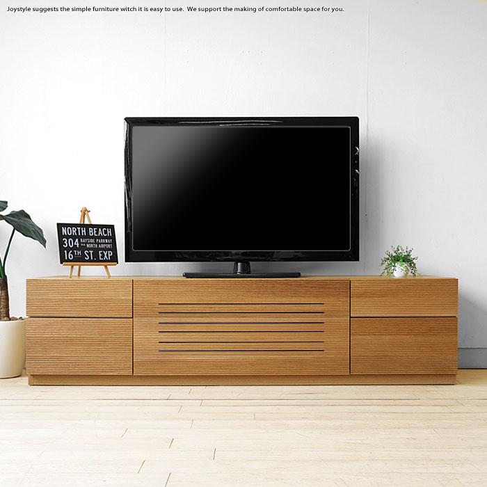 ※現在欠品中、次回入荷予定は6月中旬頃です。テレビ台 テレビボード 幅172cm 開梱設置配送 オーク材 スリット 86シリーズ ハチロクシリーズ