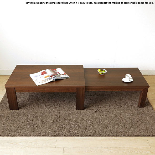 90 Cm Walnut Stock Available Extension Table Japanese Modern Center Table  Living Room Table BOTH LT WN Be Using Walnut Veneer Extension Table Width  90 Cm ...