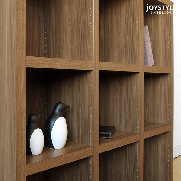 Gentil Shelf Storing Shelf Bookshelf BOX 110L WN Walnut Color Of The Simple Design  Which Saved Low Shelf Waste Of 110cm In Width 113cm In Height