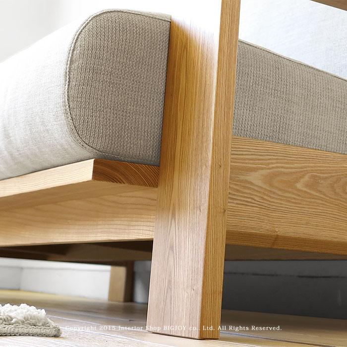 达摩木灰实木边框覆盖 Sofer 国内沙发木沙发 1 p 2 p 2.5 P 3p 沙发 LENOA 灰 * 大小取决于所用的钱!
