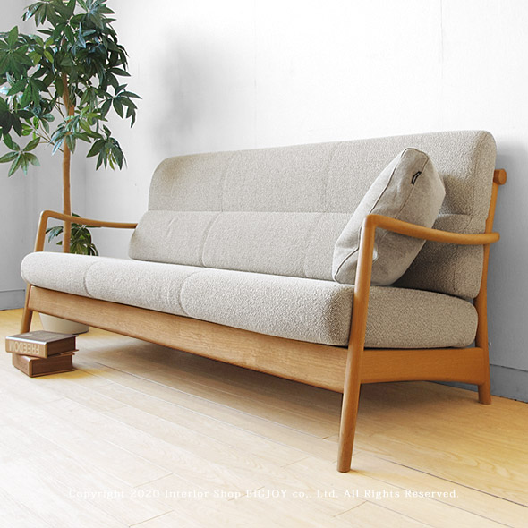Three Colors Of Woodenness Sofa Cover Ring Sofa SCANDIC 3P Natural Black  Dark Brown Development ...