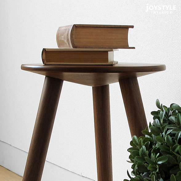 Stool PRO-LWN net shop-limited original setting of three convenient legs to  be able to use as flower level としてや side table of the chair circle