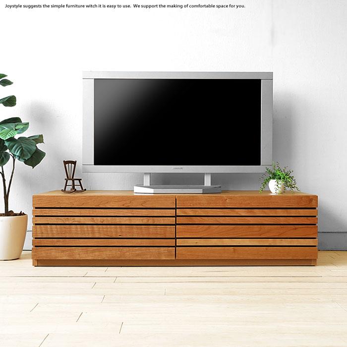 幅120cm 150cm 180cm 210cm 240cmの5サイズ ブラックチェリー材 ブラックチェリー無垢材 木製テレビ台 和モダンテイストなテレビボード