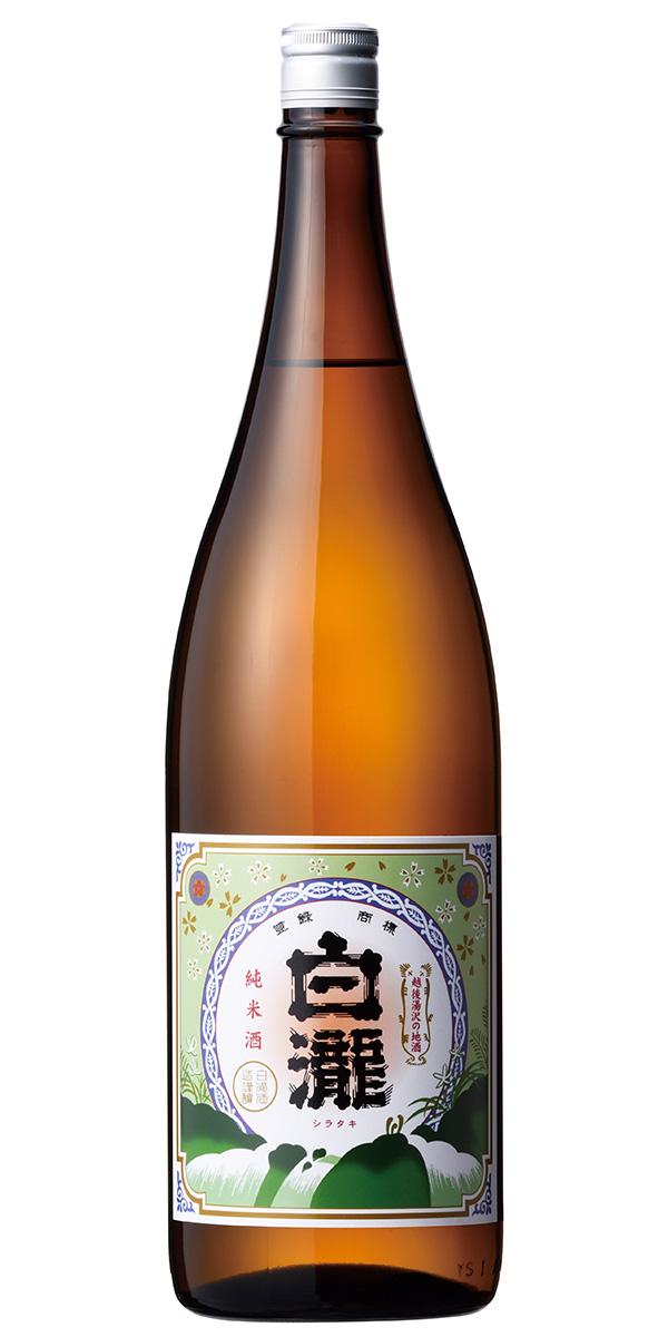新潟県産米のみで仕込んだ純米酒 お中元 日本酒 ギフト セールSALE%OFF 白瀧 1800ml 白瀧酒造 純米 完全送料無料