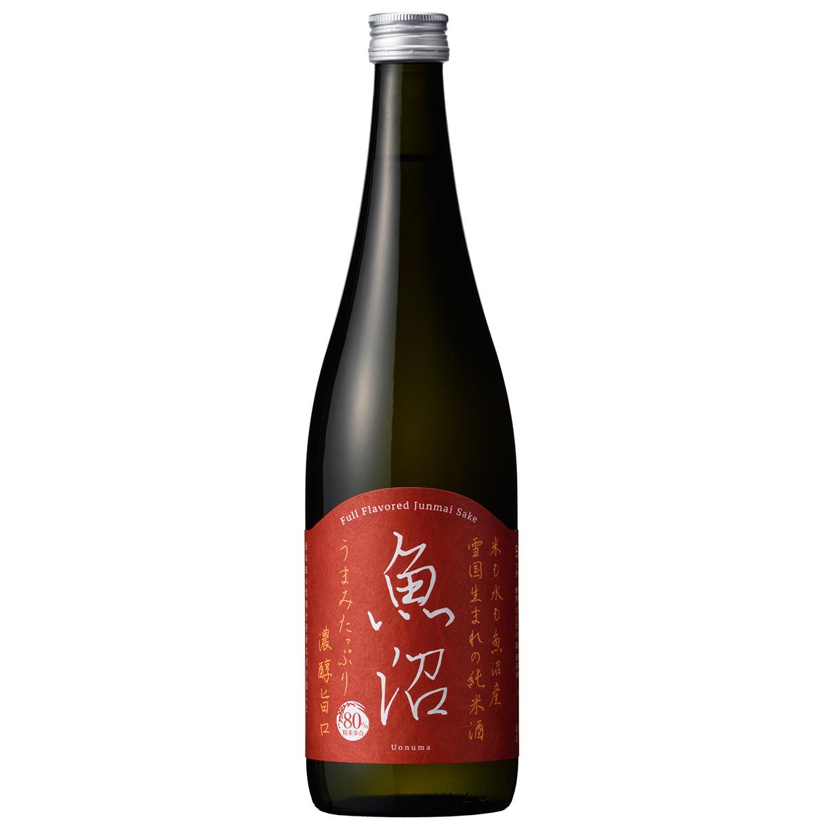 魚沼産の米のみで仕込んだ濃醇な純米酒 白瀧酒造 濃醇魚沼 ついに入荷 純米 新潟 720ml 日本酒 ギフト 高額売筋