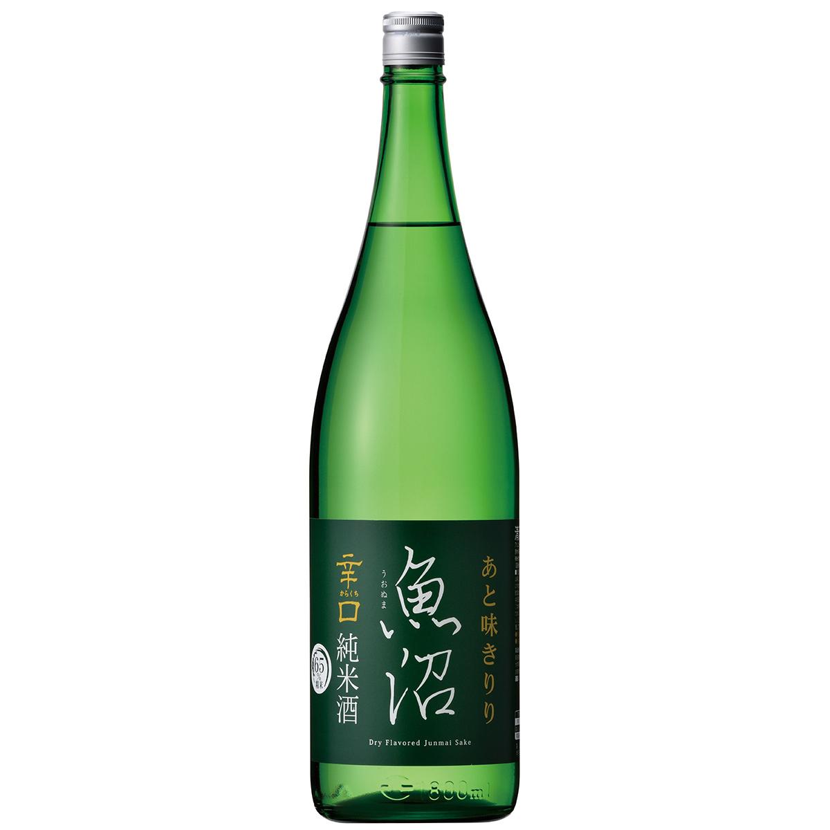 まろやかな飲み口でキレのあるあと味 売買 再販ご予約限定送料無料 お中元 日本酒 ギフト 辛口魚沼 白瀧酒造 1800ml 純米