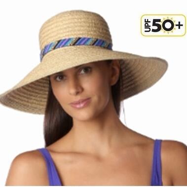 【gottex ゴテックス】麦わら帽子 つば広 UV レディース おしゃれ 遮光 紫外線対策 UPF50+ ストローハット UVカット【送料無料】