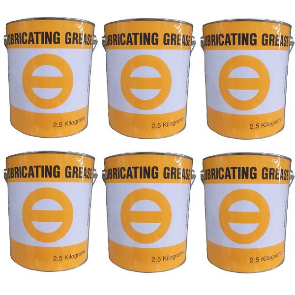 100円クーポン【マイカー割&カードで8倍】日本グリース ニグループ MP-DX (No.2) 2.5kg×6缶 (1ケース) ポイントUP 領収書OK 企業 法人