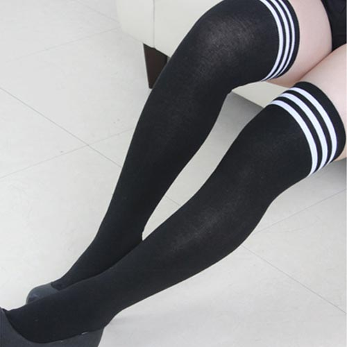 8083b7af5 jr-plan: Knee high socks-ups celeb thigh socks long socks casual socks long  socks socks ladies simple over knee socks grey knee high NYSE feminine  overknee ...