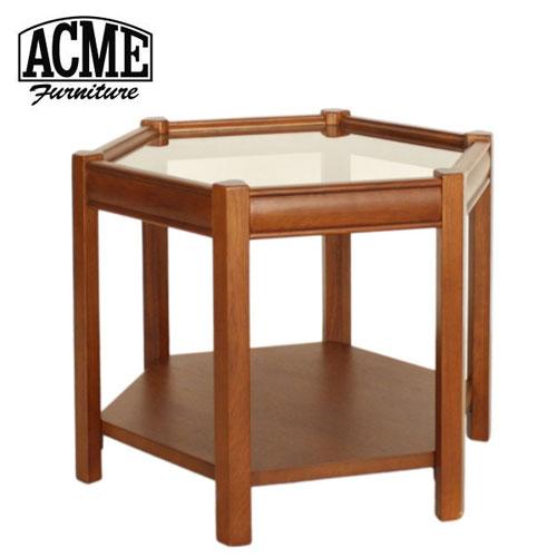 ACME Furniture アクメファニチャー BROOKS HEXAGONTABLE クリア ブルックス ヘキサゴンテーブル 家具 テーブル サイドテーブル【送料無料】