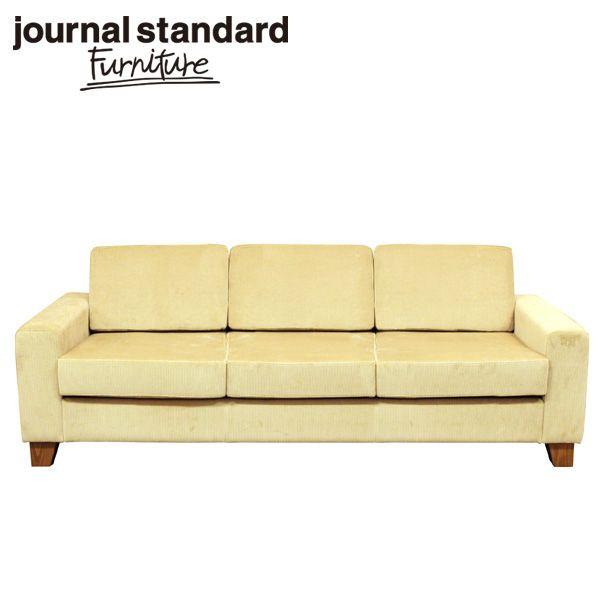 journal standard Furniture ジャーナルスタンダードファニチャー LYON SOFA 3P BEIGE リヨン ソファ 3P ベージュ 幅210cm B00M2FH3DI 家具 【送料無料】