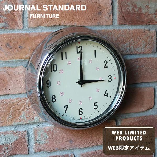 送料無料 ジャーナルスタンダードファニチャー 公式ストア 正規認証品!新規格 時計 掛け時計 掛時計 journal standard Furniture CLOCKCROME 家具 クローム ウォールクロック NATURAL GENT ディスカウント ゲント WALL