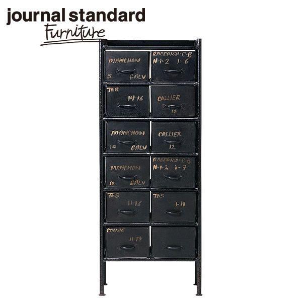 journal standard Furniture ジャーナルスタンダードファニチャー GUIDEL 12DRAWER CHEST ギデル 12ドロワーチェスト 幅59cm B00FRZI8LQ【送料無料】