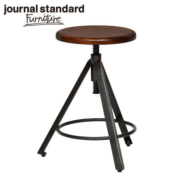 journal standard Furniture ジャーナルスタンダードファニチャー CHINON STOOL シノン スツール ウッドシート 座面昇降 B00IFS8PA6【送料無料】