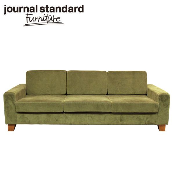 journal standard Furniture ジャーナルスタンダードファニチャー LYON SOFA 3P KHAKI リヨン ソファ 3P カーキ 幅210cm B00J58T04U【送料無料】