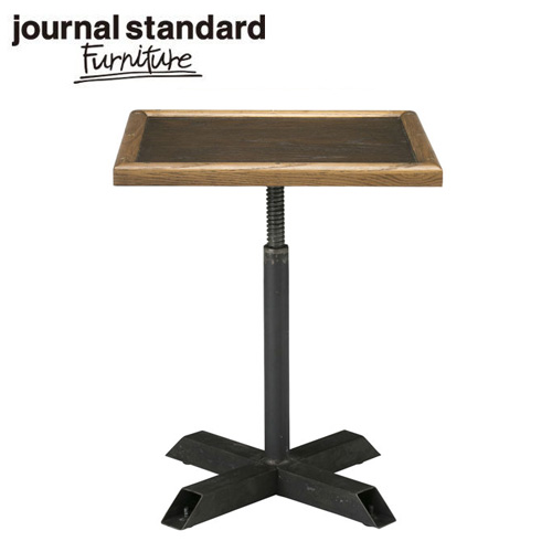 journal standard Furniture ジャーナルスタンダードファニチャー BOND WORK SIDE TABLE【2個口】 ボンド テーブル ライトブラウン ダークブラウン サイドテーブル【送料無料】