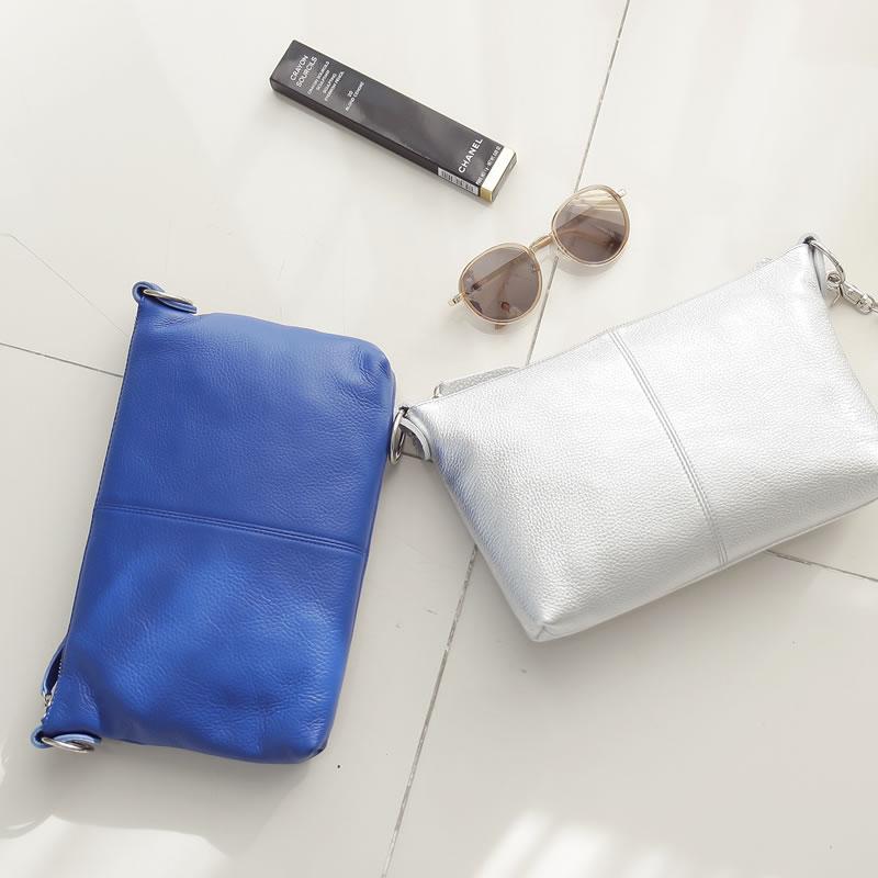 Leather Pochette & clutch shoulder bags diagonal seat bag! fs2gm [small]