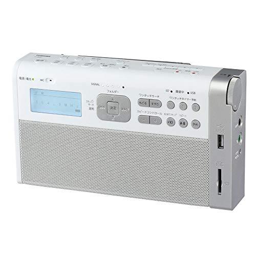 未使用 東芝 ワイドFM AMラジオ TY-RHR1-W ホワイト TOSHIBA お気に入