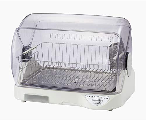 タイガー 食器乾燥器 サラピッカ AG抗菌加工フィルター 水受け 6人用 高温約100℃熱風乾燥 DHG-S400W 買収 登場大人気アイテム