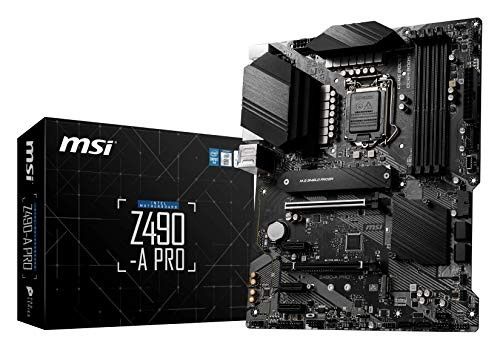 MSI Z490-A PRO マザーボード ATX [Intel Z490チップセット搭載] MB4956