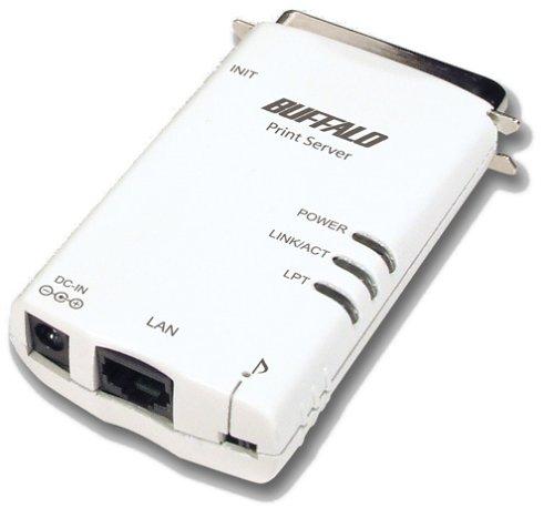 BUFFALO LPV2-TX1 マルチプロトコルプリントサーバ 正規逆輸入品 セール 特集 コンパクト1Pモデル