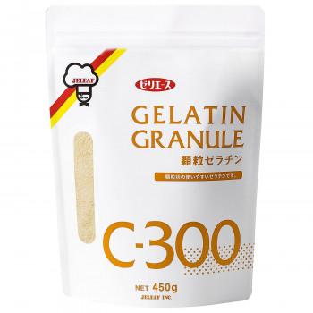 顆粒状の使いやすいゼラチンです ゼリエース 完全送料無料 顆粒ゼラチンC-300 同梱 販売実績No.1 代引不可 1セット