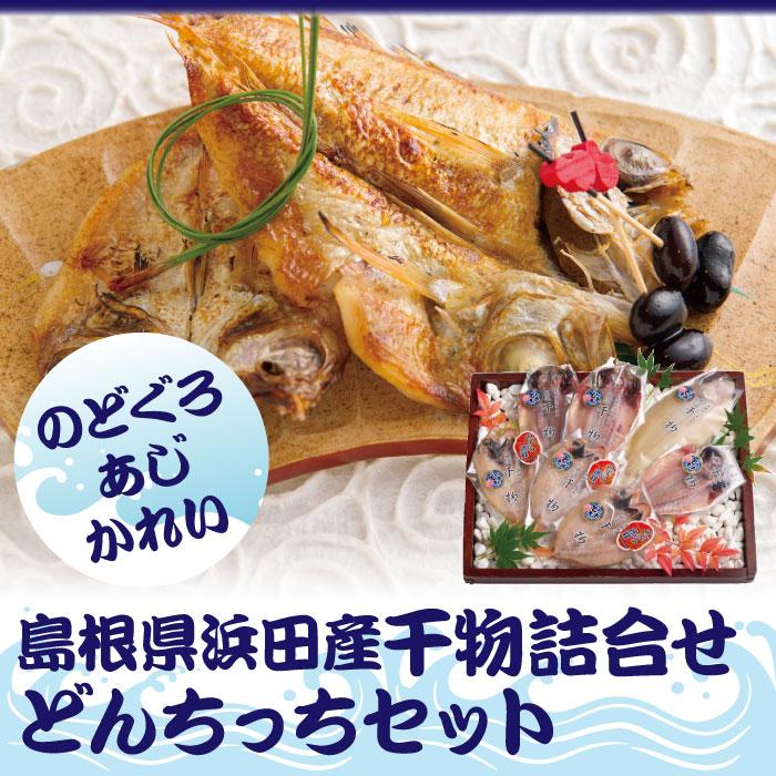浜田産干物詰合せどんちっちセット^送料無料17-07-05