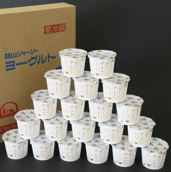 Hiruzen Jersey yogurt 20 pieces ^ Rakuten ranking of yogurt winning the first prize! /