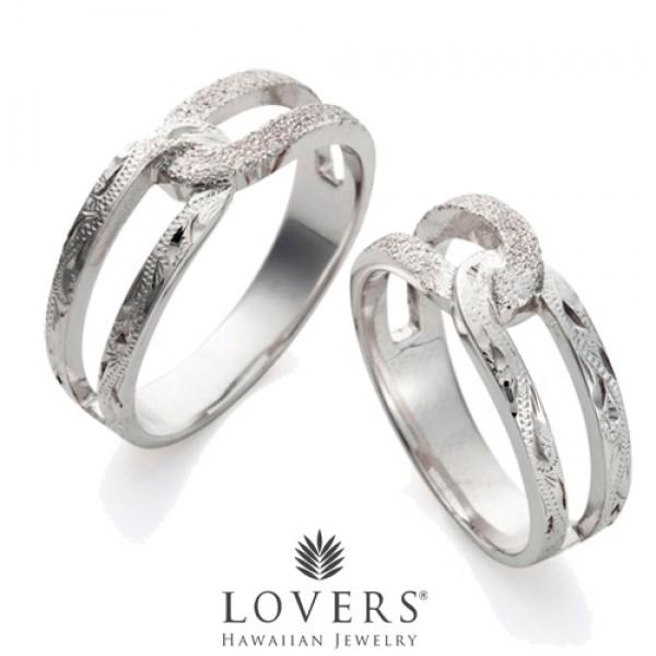 【LOVERS】ラバーズ CROSS RING STARDUST ハワイアンジュエリー シルバー ペアリング クロスリングスターダスト 【楽ギフ_包装選択】