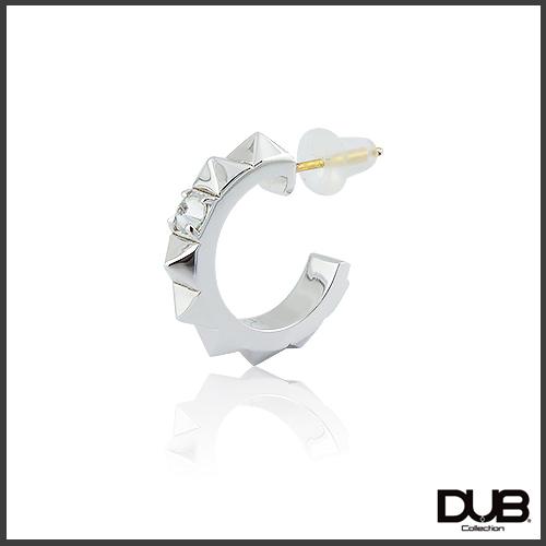 【DUB collection ダブコレクション】Studs Hoop Pierce スタッズフープピアス K18ポスト DUBj-375-1【ユニセックス】【楽ギフ_包装選択】