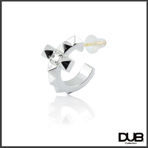 【DUB collection ダブコレクション】Studs Cross Pierce スタッズクロスピアス K18ポスト DUBj-376-1【ユニセックス】【楽ギフ_包装選択】