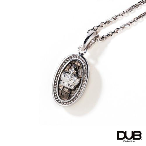 【DUB collection ダブコレクション】Leathery Medal Necklace レザリーメダルネックレス DUBj-381-1【ユニセックス】 【楽ギフ_包装選択】