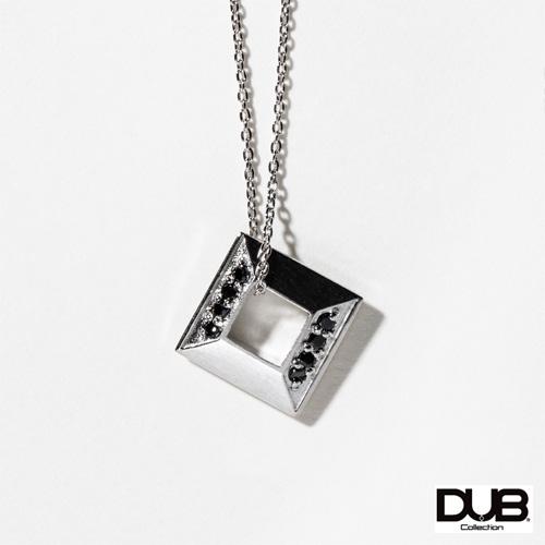 【DUB collection ダブコレクション】Square Necklace スクエアネックレス DUBj-384-1【ユニセックス】【楽ギフ_包装選択】