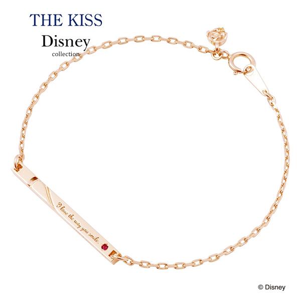 【ディズニーコレクション】ディズニープリンセス ベル ペアブレスレット(レディース単品)THE KISS ザキッス 【楽ギフ_包装選択】