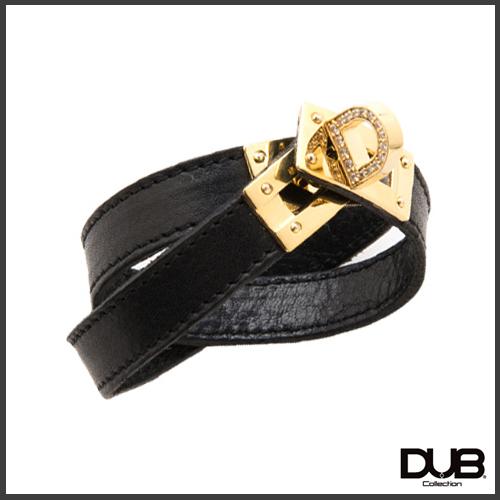 【DUB Collection│ダブコレクション】KAREN model D Leather Bracelet ディーレザーブレスレット DUB-C062-1【KARENコラボ】【ユニセックス】【送料無料】【楽ギフ_包装選択】