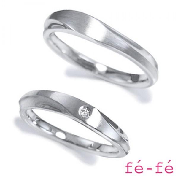【fe-fe フェフェ】ステンレス ペアリング スーパースチール fe-178&179【楽ギフ_包装選択】