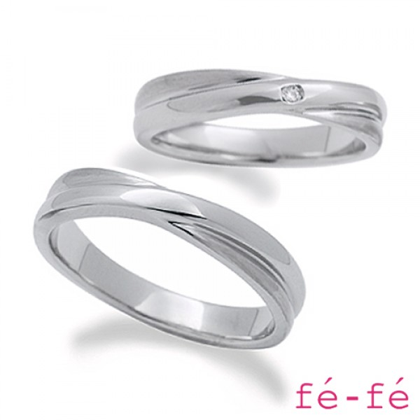 【fe-fe フェフェ】ステンレス ペアリング スーパースチール fe-208&209【楽ギフ_包装選択】